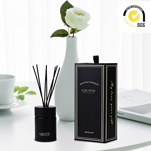 Lalata Fragrance Reed Diffuser Essential Oil Coconut Mango Amber Scent In Gift Box Natural Scented Long Lasting Fragrance Oil For Aromatherapy And Air Freshener