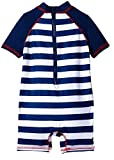 Wippette Baby Boys Crabs & Stripe 1PC, Navy, 18