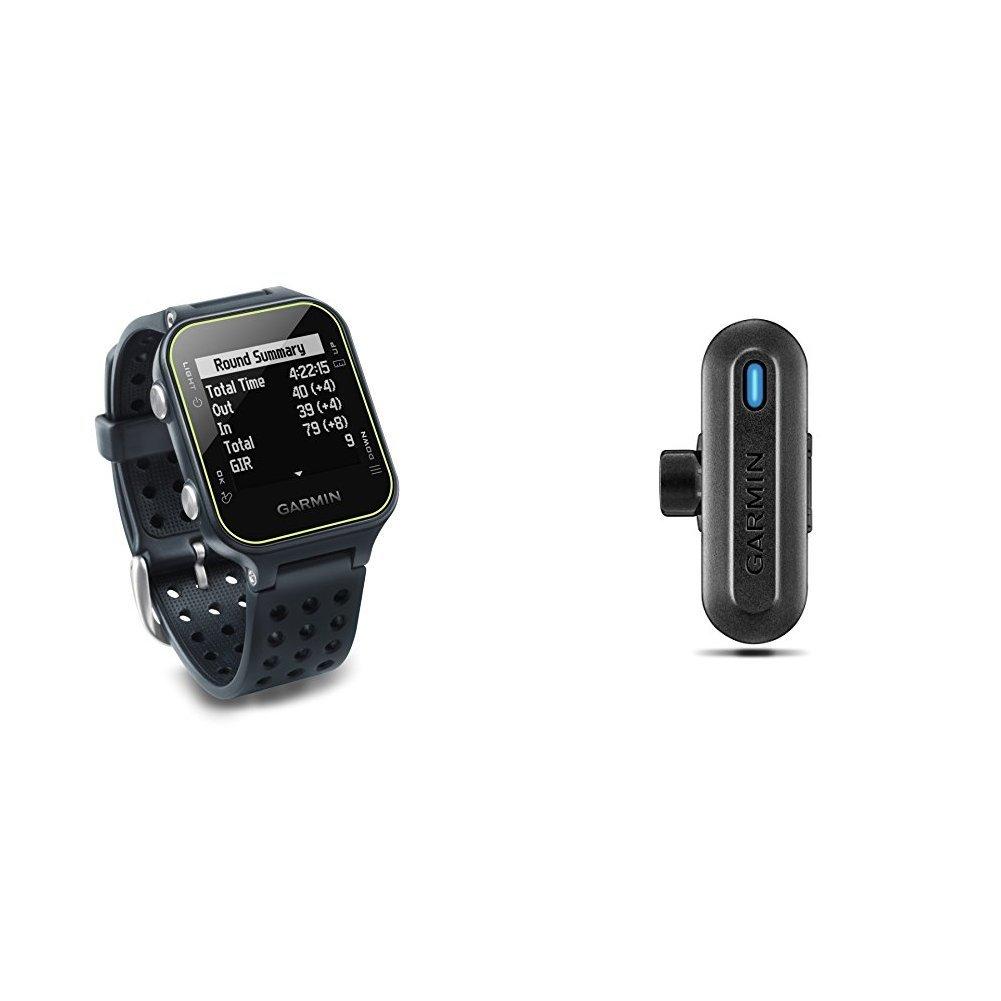 Garmin Approach S20 - Slate and TruSwing Golf Club Sensor Bundle