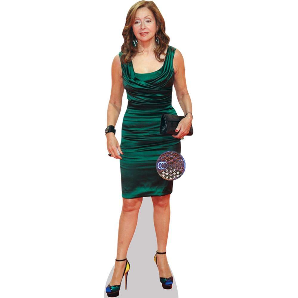 Celebrity Cutouts Vicky Leandros Green Pappaufsteller lebensgross