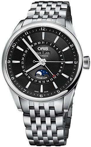 Oris Artix Complication Moonphase Automatic Mens Watch 915-7643-4034MB