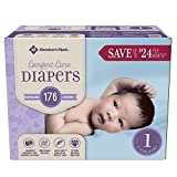 Member's Mark Comfort Care Baby Diapers (Size 1, 176 ct.)