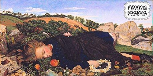 Counted Cross Stitch Pattern: Pre-Raphaelite Artists,