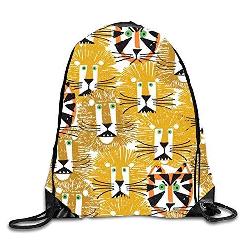 Bnialaed Tropical Fruits Drawstring Backpack Travel Rucksack Shoulder Bags Fashion Gym Bag Lightweight Drawstring Gym Yoga Runner Bags For Men Women ()