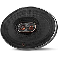 Infinity REF-9623ix 300W Max 6x9 3-way Car Audio Speaker with Edge-Driven, Textile Tweeters - Pair