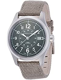 H70595963 Khaki Field Automatic Mens Watch - Green Dial