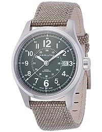 Hamilton Men's H70595963 Khaki Field Automatic Olive Watch