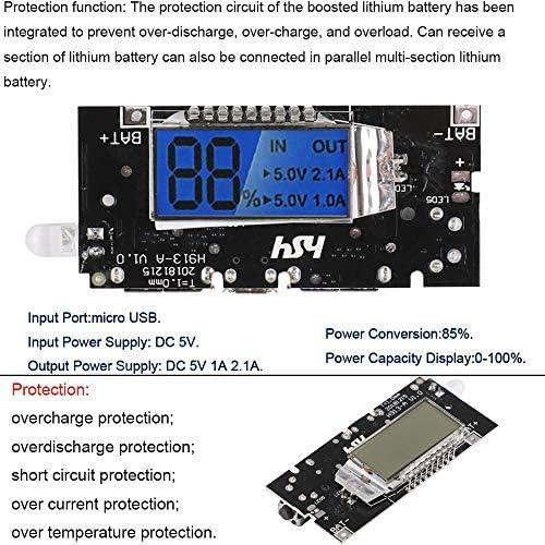 Amazon.com: 4pcs 186 50 Cargador de batería Módulo de ...
