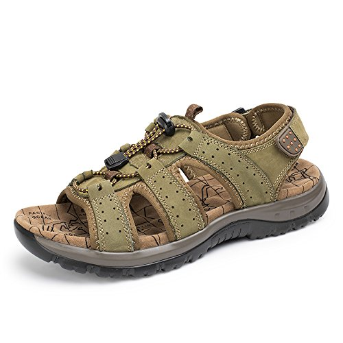 Xing Lin Sandalias De Hombre Sandalias De Verano Al Aire Libre Los Hombres Británicos Zancudas Sandalias Zapato Zapatos Ligeros Khaki