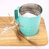 Webake Flour Sifter 3 Cup Stainless Steel Baking