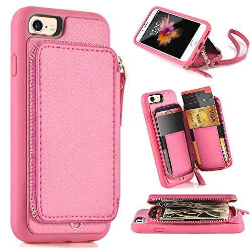 Iphone Wallet Protective Leather Handbag Features