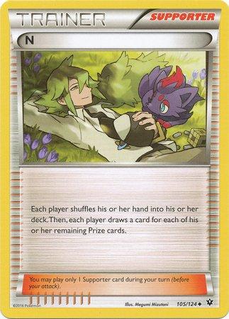 Pokemon - N (105/124) - XY Fates Collide