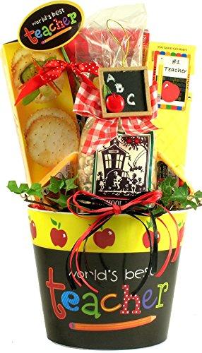 World's Best Teacher, Gift Basket for Teachers