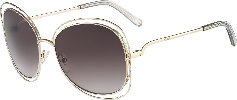 b6e59c864bc Chloe CE119S-734 Gold Light Grey CE119S Sunglasses  Amazon.co.uk  Clothing