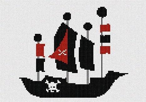 pepita Pirate Ship Needlepoint Kit