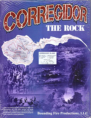 BFP: Corregidor, The Rock, Module for The ASL Advanced Squad Leader Game Series (by Bounding Fire)