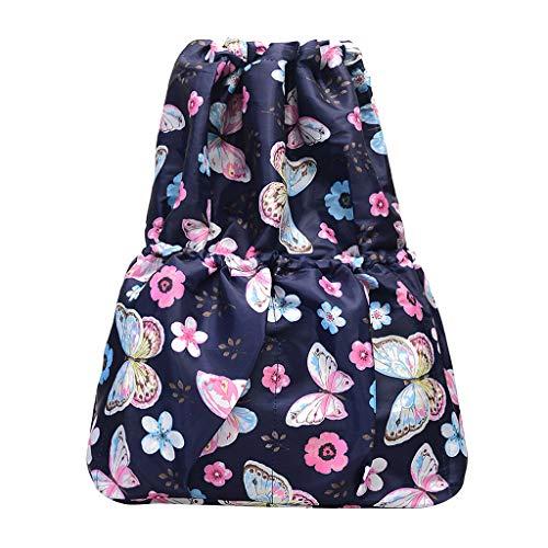 - Transser Drawstring Backpack String Bag Sackpack Cinch Water Resistant Nylon for Gym Shopping Sport Yoga Bag