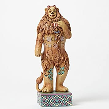 Jim Shore Wizard of Oz Cowardly Lion If I Only Had The Nerve 4045417 Enesco