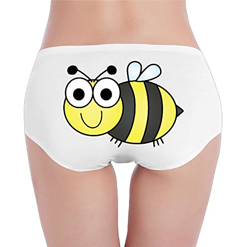 Bng Ladies Bumblebee Low Waist Underwear Panty Comfortable Brief For Women