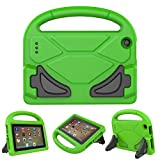 All New F i r e 7 2017/2015 Case - Roasan Lightweight Shockproof Handle Kid –Proof Cover Kids Case for F i r e 7 Tablet (7th Gen & 5th Gen Release,Green)