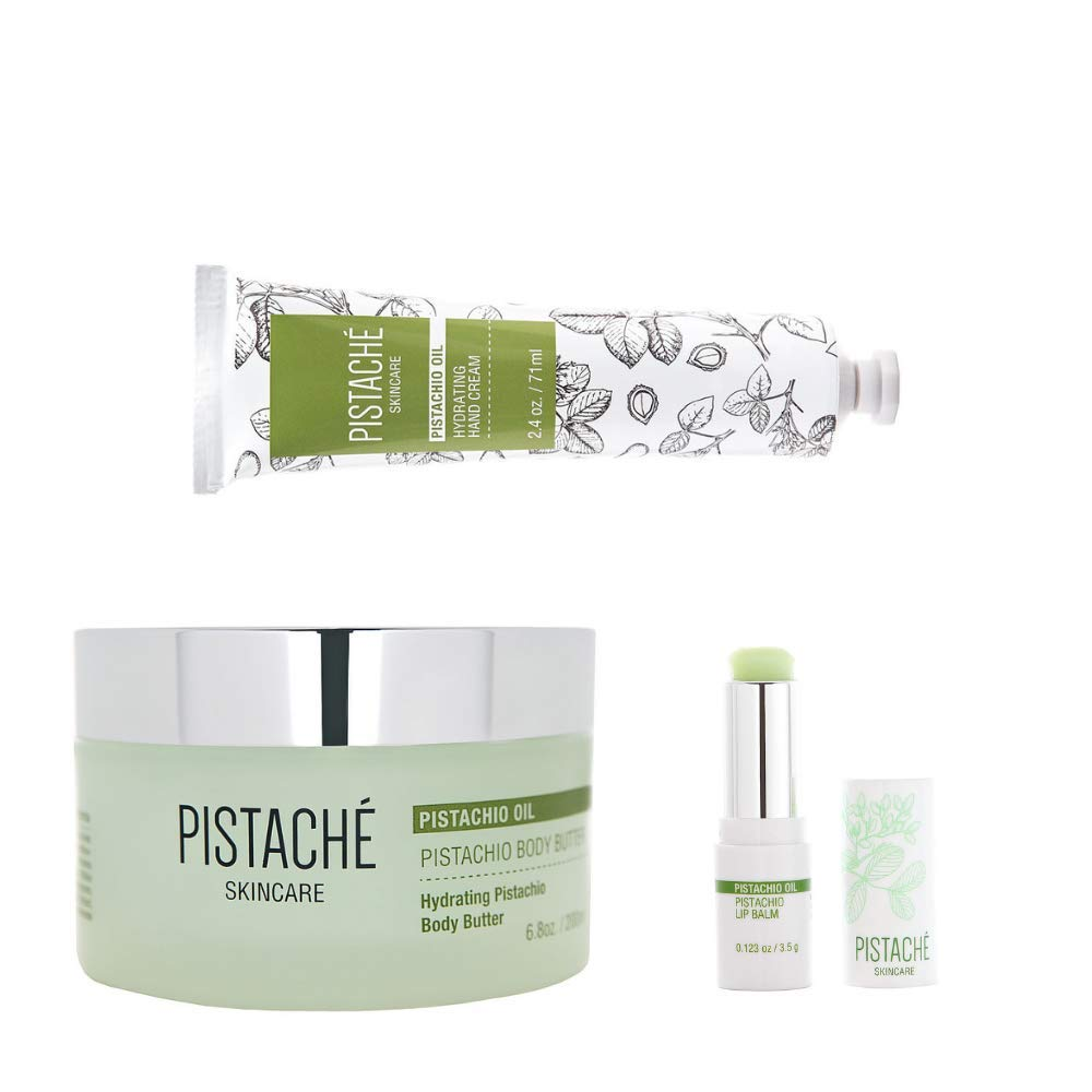 Pistaché Skincare 3-Piece Pistachio Best Selling Body Care