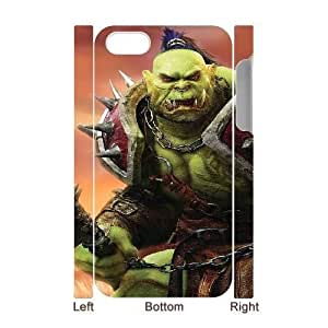 iphone 4,4S 3D Phone Case White World of Warcraft V9072943