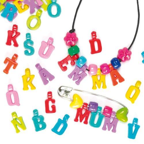 4 opinioni per Ciondoli Lettere dell'Alfabeto (confezione da 160)