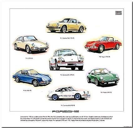 Classic Porsche 911 Fine Art Print – -- 911, S, Targa, Turbo