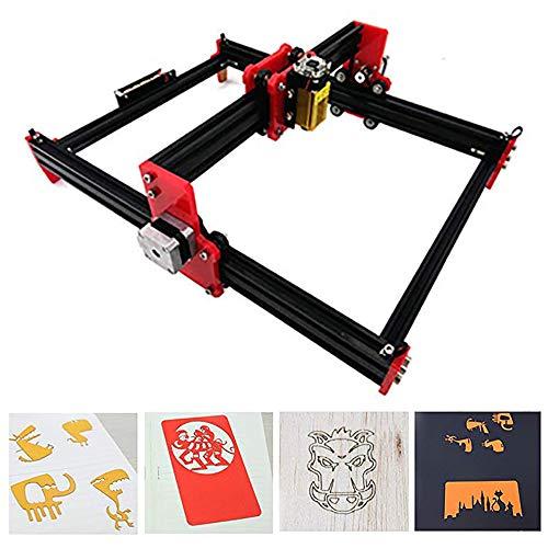 2500mw CNC Laser Engraving Machine,Craftsman 12V DC 39.5x28.5cm Desktop CNC DIY Picture Making Printer (2500mw / 39.5 x 28.5cm)