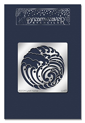 Stampendous Dreamweaver Stencil, Wave Crest (Table Waves Activity)