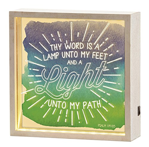 Be A Light Unto My Path Bible Verse