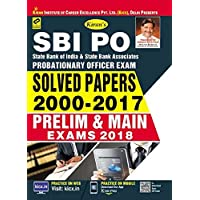 SBI PO Solved papers 2000 - 2017 Prelim and Main Exams 2018 - 2200