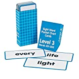 Paper Sight Words Pocket Chart Cards - Level 3 (With Sticky Notes)
