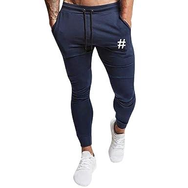 9cb9920d5dc9c ... de otoño Cordón Impreso Informal Pantalones Deportivos Pantalones  Pantalones Impresos Pantalones Hombre Pitillo Modernos  Amazon.es  Ropa y  accesorios