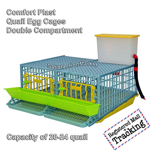Quail Cage Two Compartment, The Patented Design, First for sale  Delivered anywhere in USA