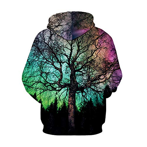 Photno Womens Hooded Sweatshirts, Pullover Hoodies Winter 3D Print Tops Shirt Blouse Coat Outwear by Photno (Image #1)