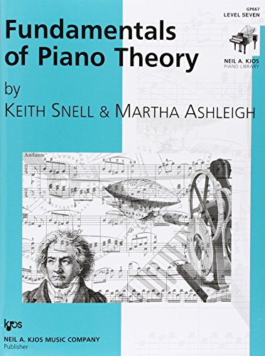 GP667 - Fundamentals of Piano Theory - Level 7 -