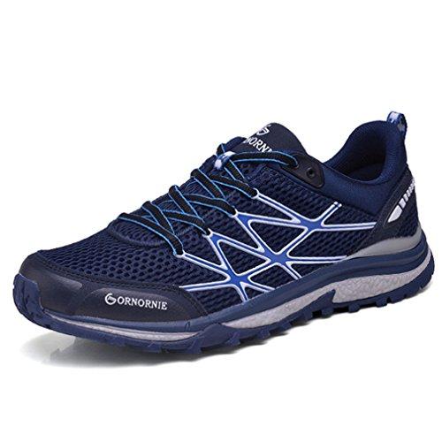caño XIGUAFR Azul adulto botas de Unisex bajo qBxaO7cB