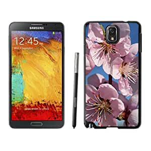 Fashionable Designed Cover Case For Samsung Galaxy Note 3 N900A N900V N900P N900T With Peach Blossoms Flower Mobile Wallpaper Phone Case
