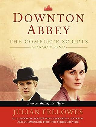 book cover of Downton Abbey Script Book Season 1