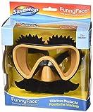 SwimWays 6047310 Swim Ways Funny Face Swim Mask-Mustache, Null