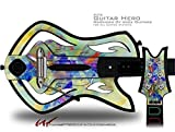 Sketchy Decal Style Skin - fits Warriors Of Rock Guitar Hero Guitar (GUITAR NOT INCLUDED)