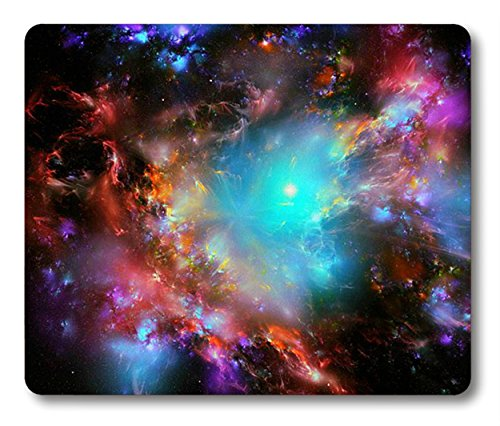 Supwek Mouse Pad Galaxy Customized Rectangle Non-Slip Rubber Mousepad Gaming Mouse Pad