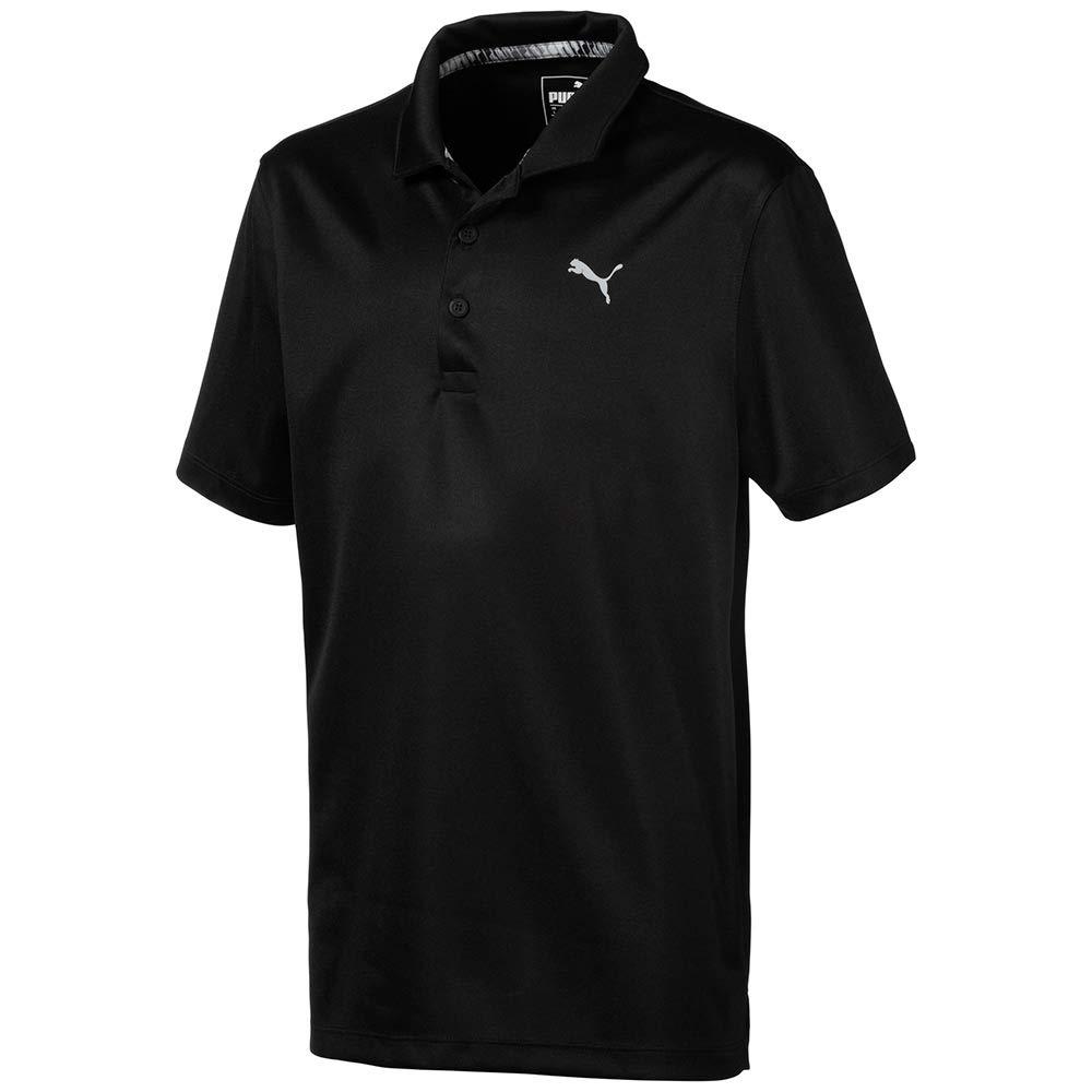 Puma Golf Boys 2019 Polo, Puma Black, Small