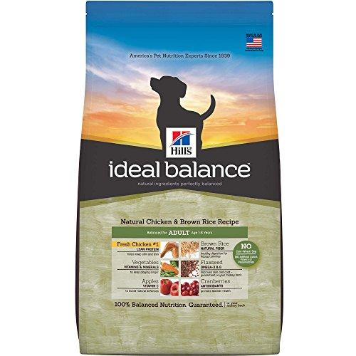Hill's Ideal Balance Adult Natural Chicken & Brown Rice Recipe Dry Dog Food, 30-Pound Bag from Hill's Ideal Balance