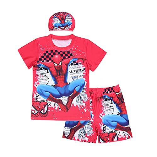 Zomer Kinderen Spiderman Badpak Cosplay Cartoon Kostuum Zwemmen Stuk Rash Guard Wetsuit Sneldrogend Ademend Bad…