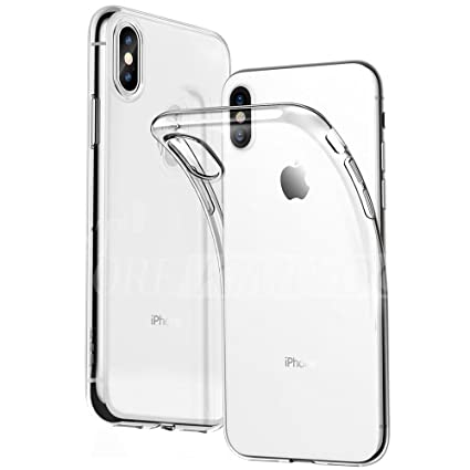online store 8c2fb 722e2 iPhone Xs max/iPhone 10S max - Clear Case Ultra Transparent Silicone Gel  Cover for Apple iPhone Xs max, iPhone 10S max (iPhone Xs max/iPhone 10Smax,  ...