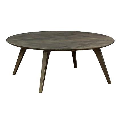 Amazon Com Saloom Furniture Company Martin Strata Round Hand Carved