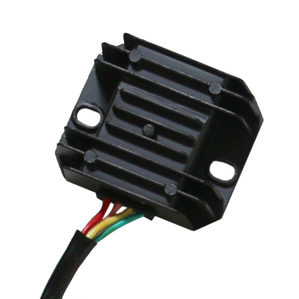 Jcmoto Wiring Harness Loom Kit Cdi Rectifier Key Scooter Diagram Chinese Dunebuggy 250cc Gy6 Engine No Ignition Coil Magneto Stator For 125cc 150cc Atv Quad Automotive
