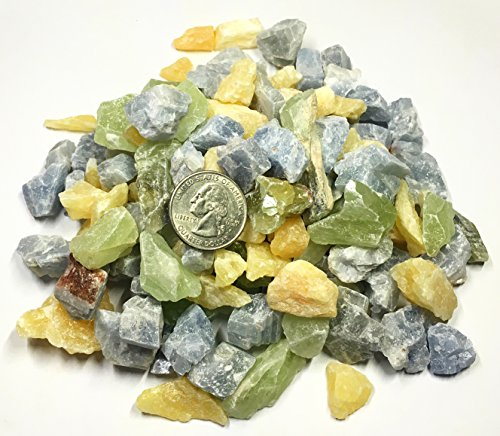 yellow calcite beads - 5